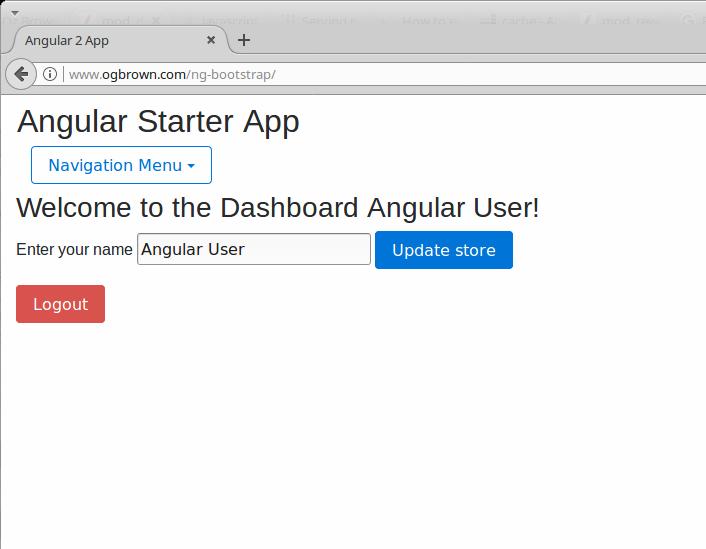 Angular Starter App